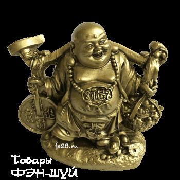 Хотей с монетами- бог богатства и счастья