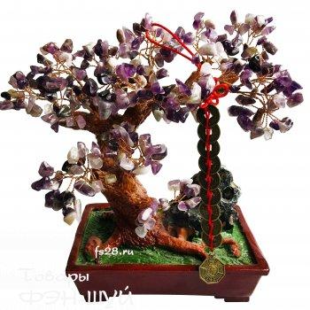 Дерево счастья (аметист)
